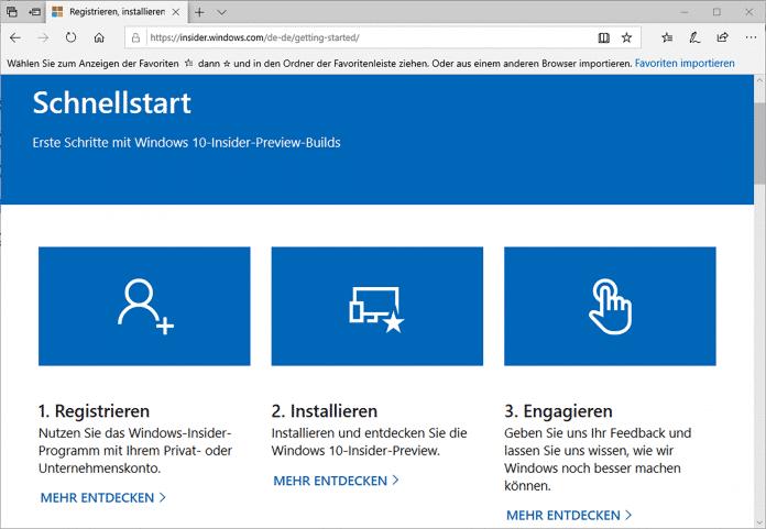 Das Teilnehmen am Windows-Insider-Programm fällt leicht, macht aber keinen Spaß. Ein Umbau des Programms soll Abhilfe schaffen.