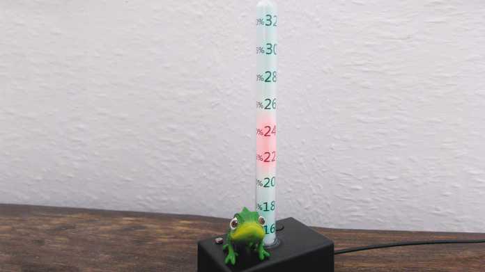 Bürothermometer mit Farbwechsel