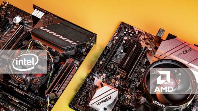 Günstig und leistungsstark: aktuelle Mittelklasse-Plattformen von AMD und Intel