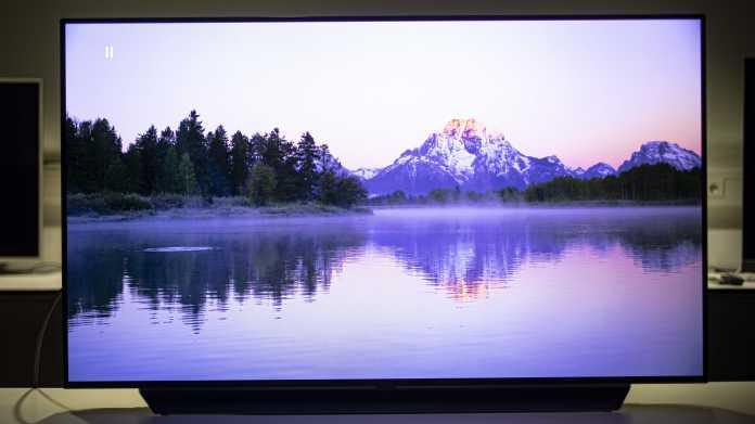 OLED-TVs: LG schaltet FreeSync per Firmware-Update frei