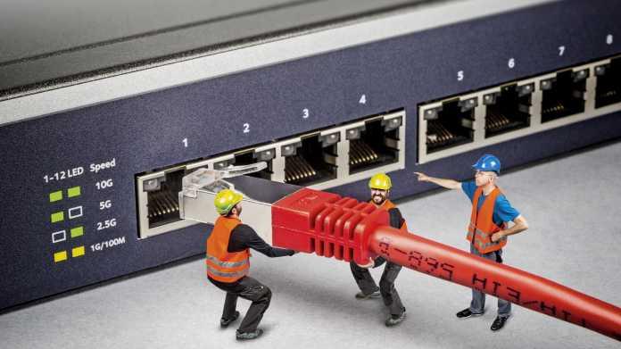 Multigigabit-Ethernet für mehr Netzwerkdurchsatz