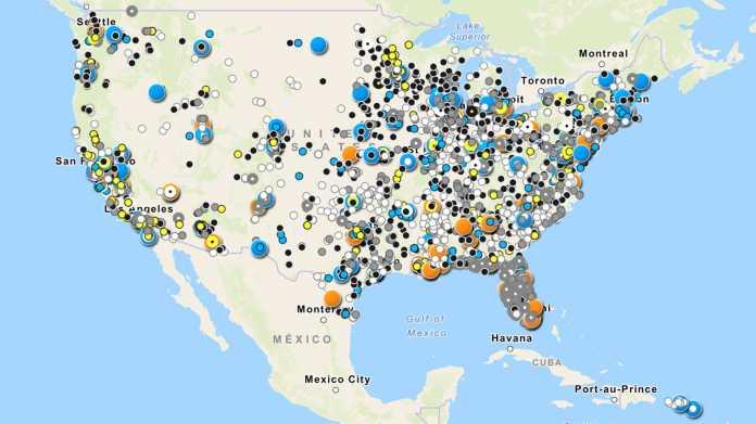Atlas der Überwachung: Datenbank zeigt Instrumentarium der US-Polizei