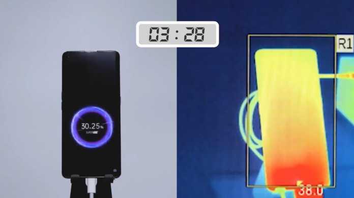 Oppo: 125-Watt-Ladegerät lädt Smartphones in 20 Minuten