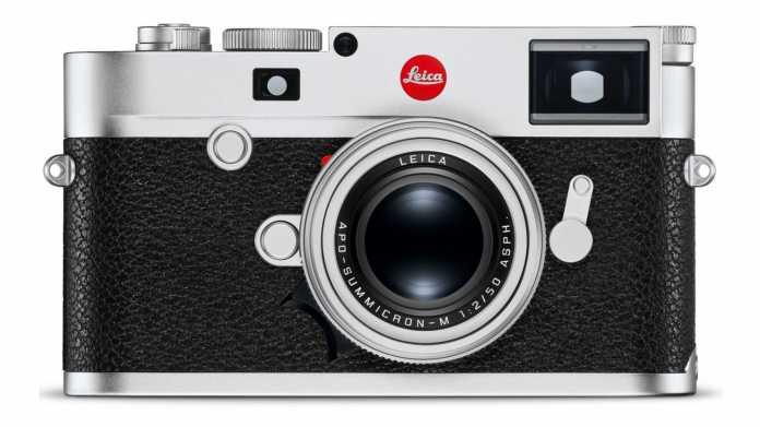 Leica M10-R: Messsucherkamera mit 40 Megapixeln