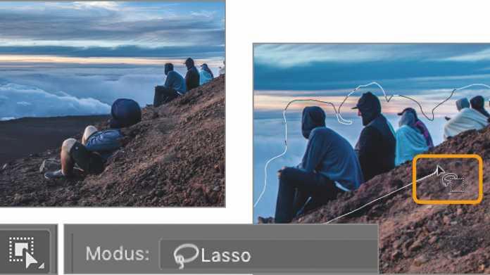 """Photoshop-Workshops """"Transformieren und Verformen"""" I: Inhaltsbasiert Skalieren"""