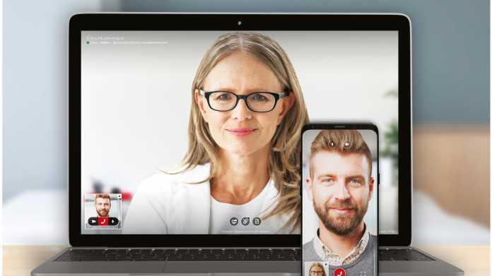 Videosprechstunde beim Arzt: auch für Kassenpatienten meist kostenlos