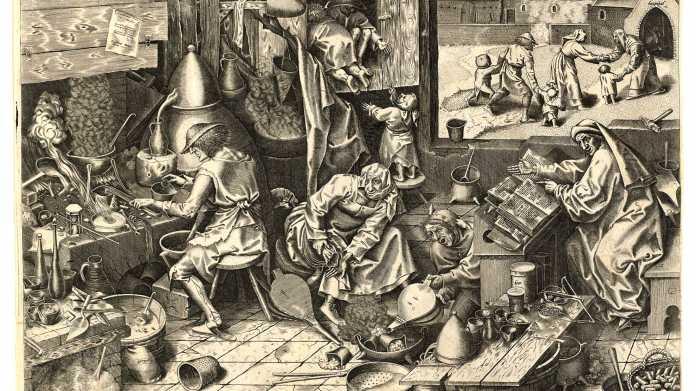 Alchemie: Selbst bizarre Vorstellungen treiben die Wissenschaft