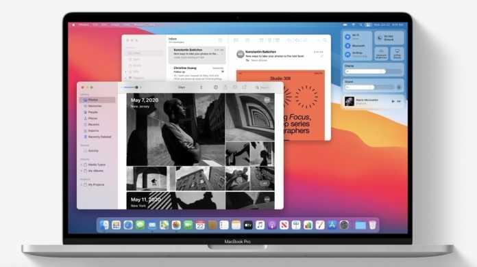 macOS 11 alias Big Sur