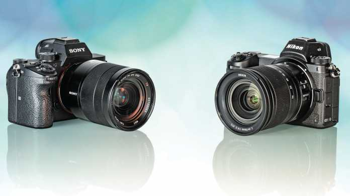 Sony A7 III gegen Nikon Z6