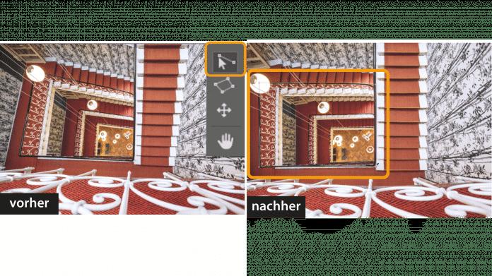 """Photoshop-Workshop """"Transformieren & Verformen"""" III: Perspektivisch Verformen"""