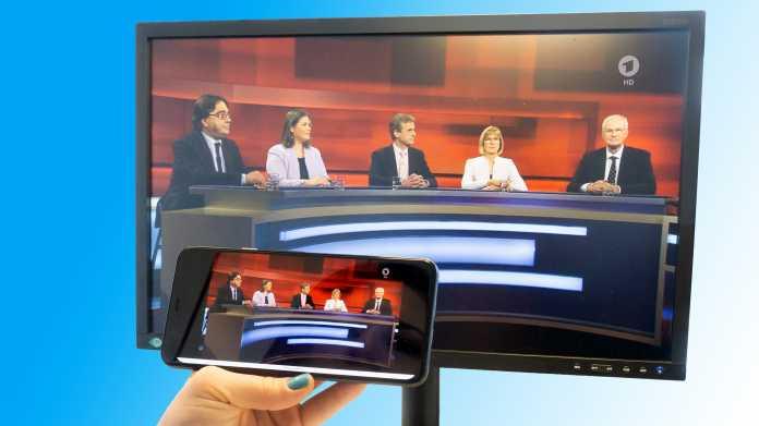 Fernsehen auch unterwegs: Live-TV-Apps statt Kabel oder Satellit
