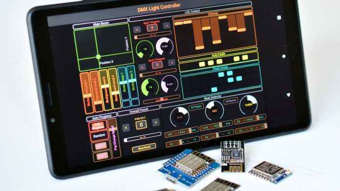 Hardware steuern mit TouchOSC