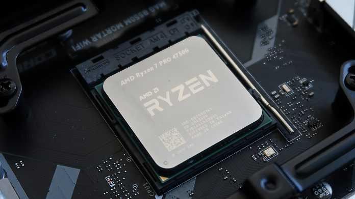 AMD Ryzen 7 Pro 4750G im Kurztest: Sparsamer Achtkern-Prozessor für Business-PCs