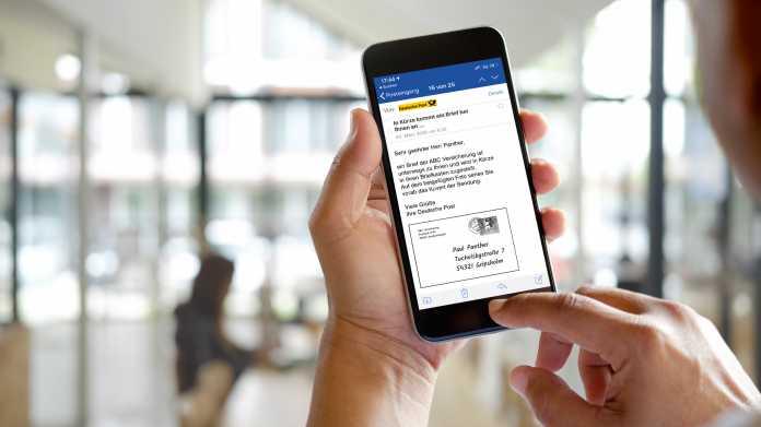 Neuer Service: Post und 1&1 kündigen Briefe per E-Mail an