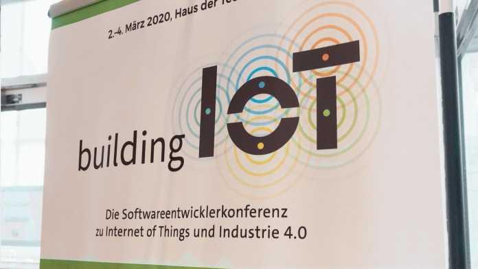 Videos der building IoT nur noch diese Woche zum Einstiegspreis