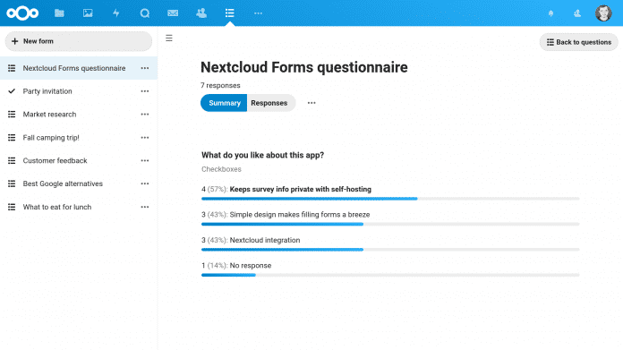 Wie Google Forms, aber mit Privatsphäre: Nextcloud veröffentlicht Umfrage-Tool