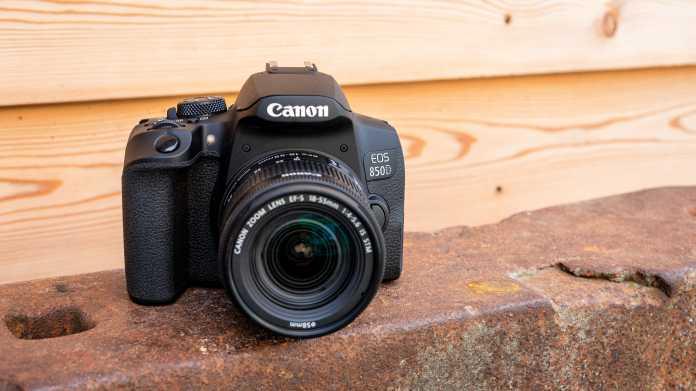 Canon EOS 850D im Test: Einsteiger-DSLR mit besonders einfachem Handling