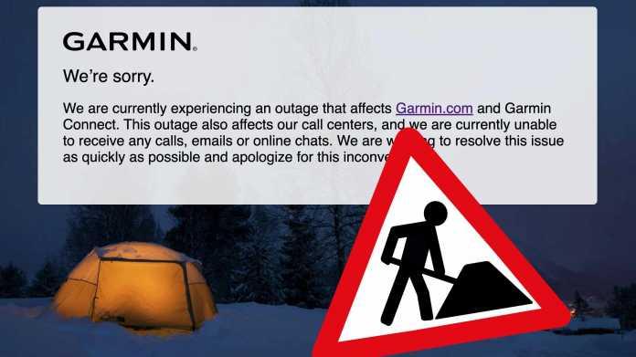 Garmin Outage2
