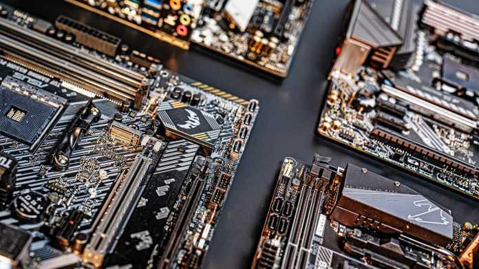 Ryzen-Mainboards mit B550-Chipsatz für schnelle SSDs und Netzwerke