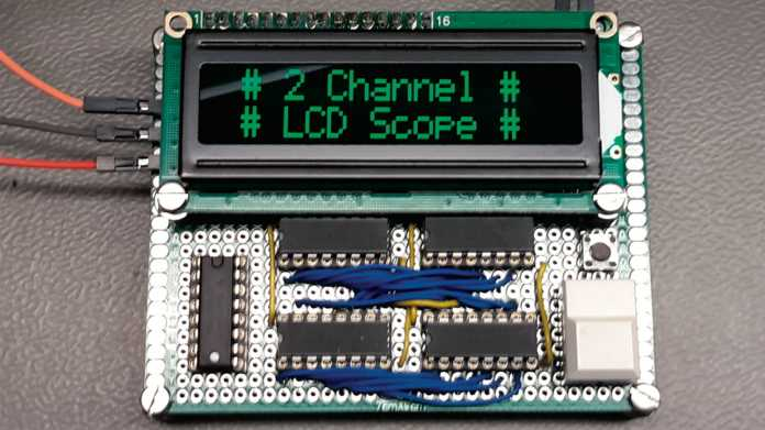LCD-Oszilloskop für Digital-Signale