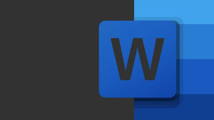 Vollständigen Dark Mode in Microsoft Word einstellen