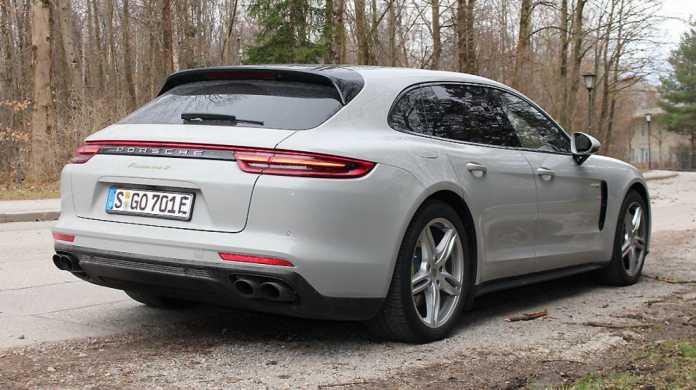 Modellpflege für den Porsche Panamera