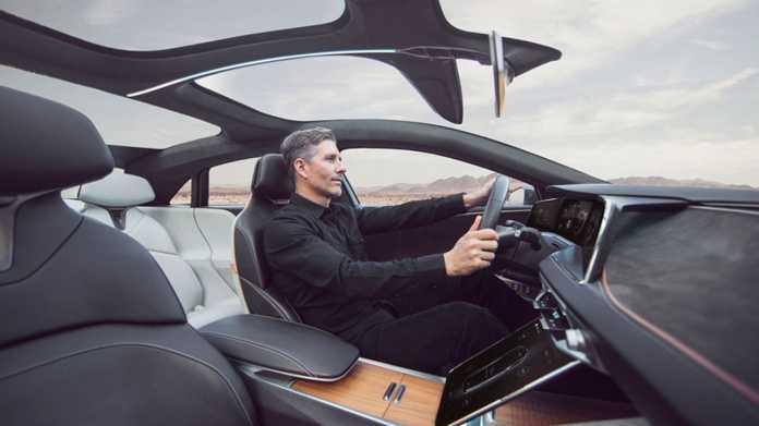 Luxus-Elektroauto Lucid Air soll Anfang 2021 zu haben sein