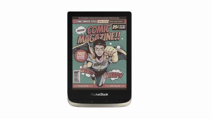 PocketBook Color: E-Reader mit Farbdisplay jetzt in Detuschland erhältlich