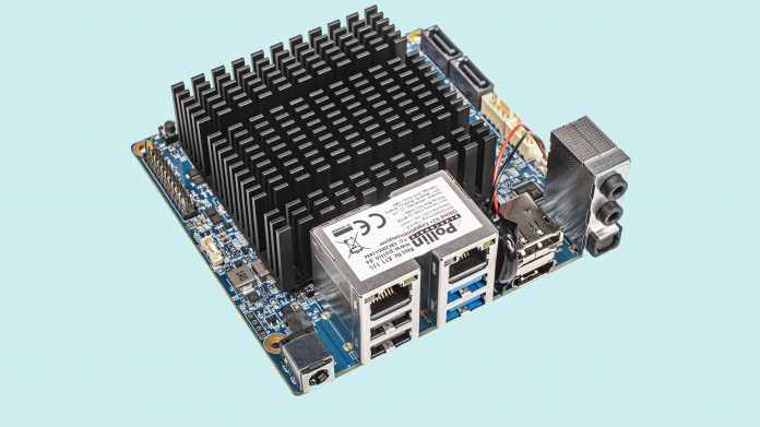 Hardkernel Odroid-H2+ mit Celeron J4115 und Dual-2,5-GBit-LAN