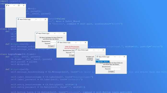 Python: Einfache grafische Bedienoberfläche mit Tkinter erstellen