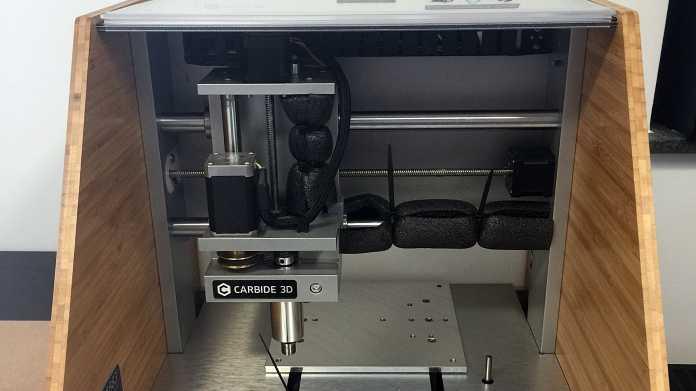 Ausprobiert: CNC-Fräse Nomad 883 Pro