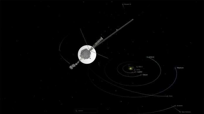 NASA-Sonde Voyager 1: 150 Mal so weit von der Sonne entfernt wie die Erde