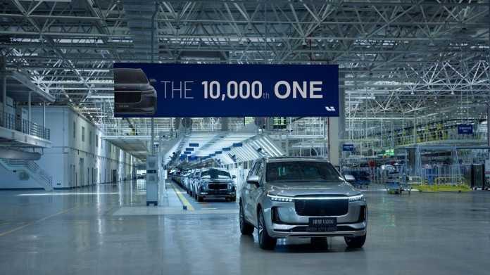 Li Auto, das zweite chinesische E-Auto-Startup an der US-Börse