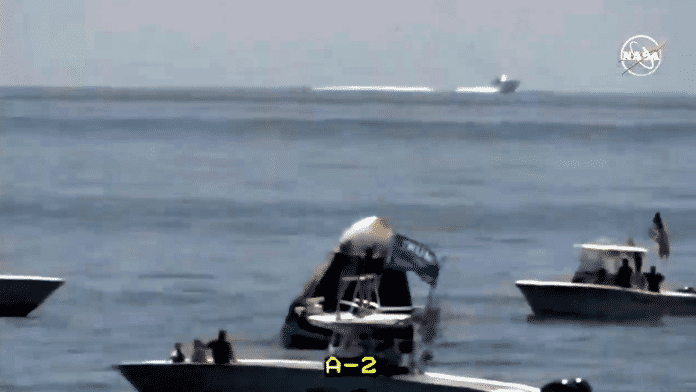 NASA TV (Screenshot)