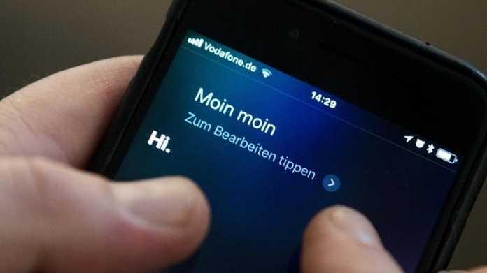 Siri-Spracherkennung