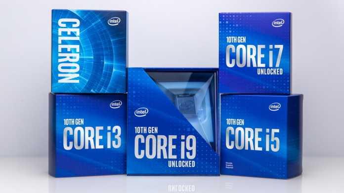 Core i9-10850K: Günstigerer Zehnkern-Prozessor im deutschen Handel