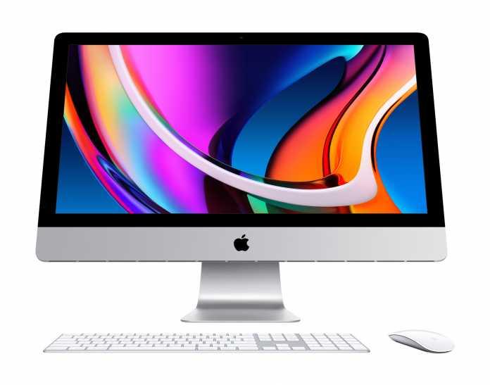"""Sieht aus wie immer – der neue 27"""" iMac."""
