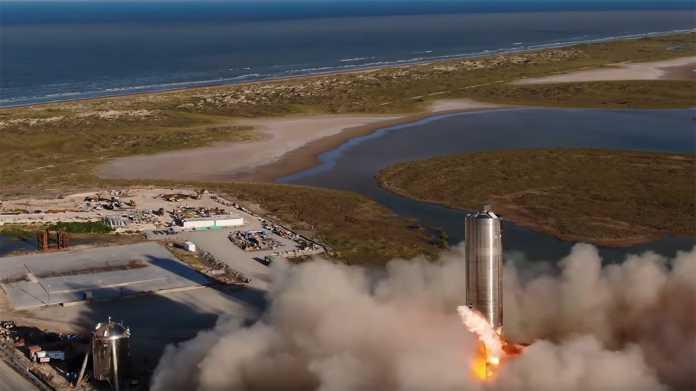 SpaceX: Starship-Prototyp erreicht bei Hüpfer 150 Meter Höhe