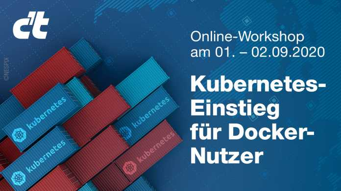 Online-Workshop: Kubernetes-Einstieg für Docker-Nutzer