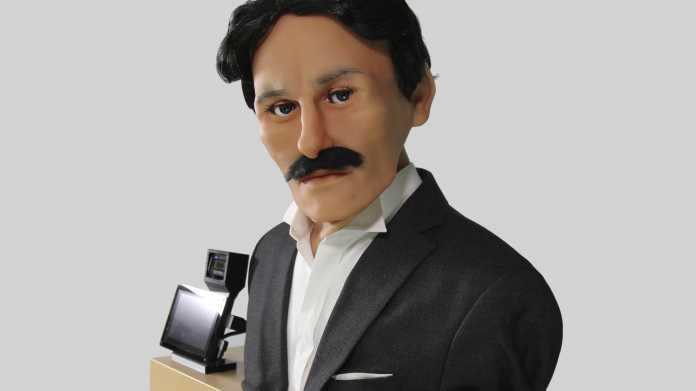 Animatronischer Tesla