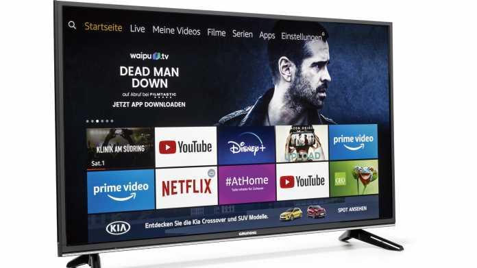 Grundig-TV mit Fire-TV-Oberfläche