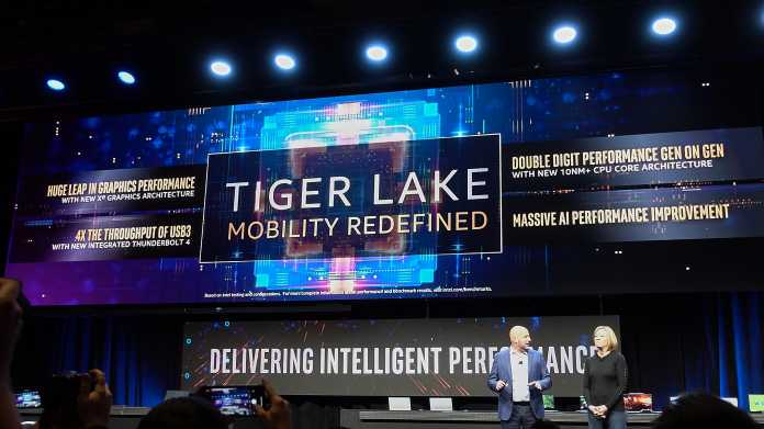 Mobilprozessoren Tiger Lake: Intels zweite 10-nm-Generation kommt im September