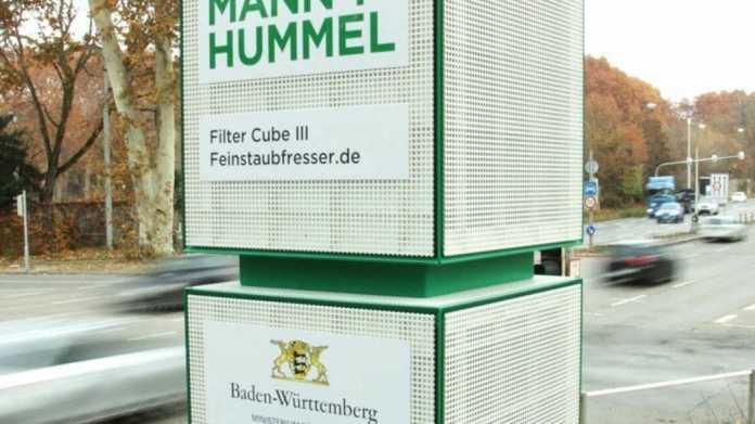 Verkehrsministerium BaWü: Luftfiltersäulen am Neckartor wirken