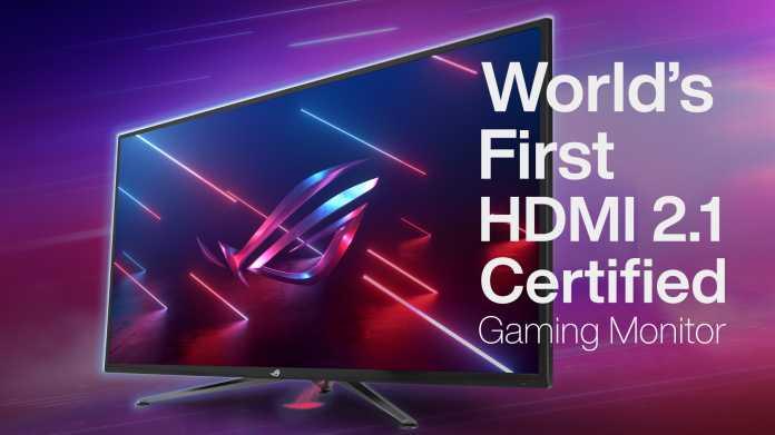 Gaming-Monitore: Asus bringt HDMI 2.1 dieses Jahr zu PC-Displays