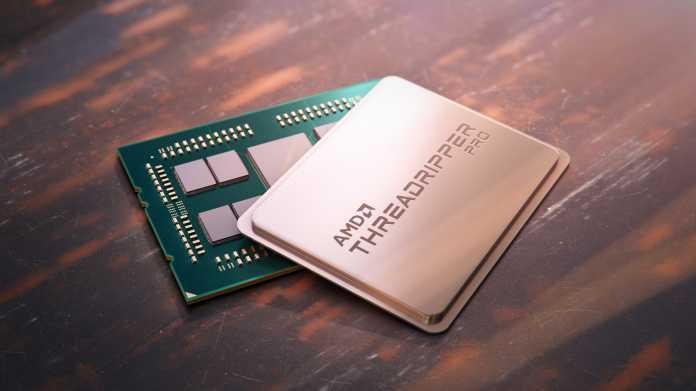 AMD Ryzen Threadripper Pro: Workstation-Prozessoren mit acht Speicherkanälen