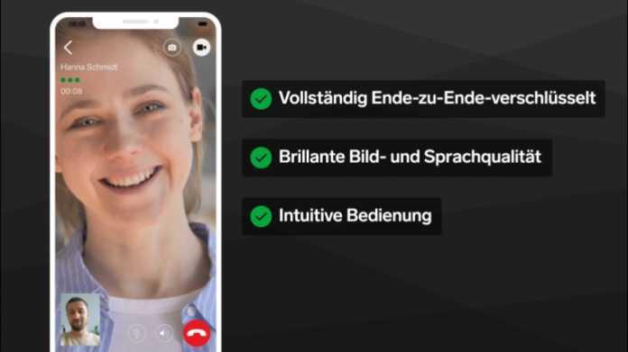 Messenger: Threema unterstützt nun auch Videotelefonate
