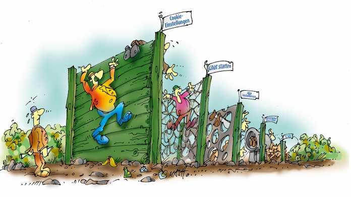 World Wide Web: Mühsamer Hindernislauf