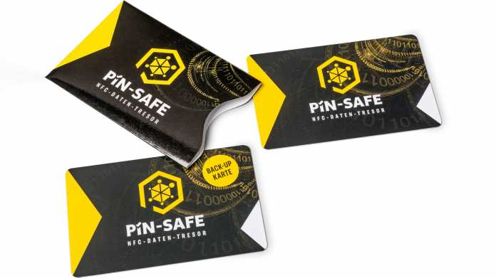 NFC-Passwortkarte PIN-Safe