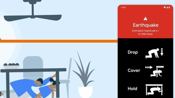 Google macht Android-Handys zum Seismometer