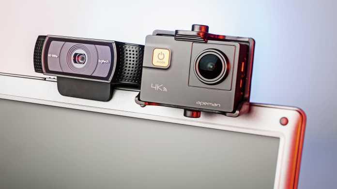 Actioncams als Ersatz für überteuerte Webcams